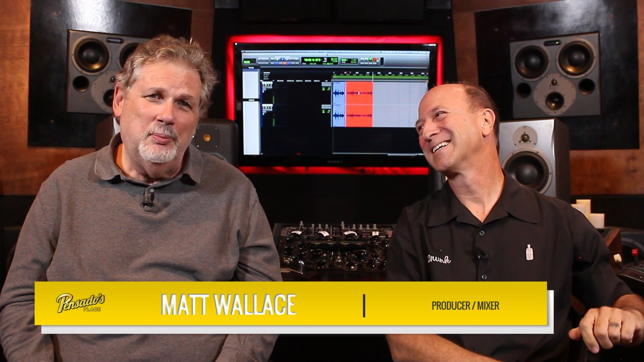 Producer/Mixer Matt Wallace
