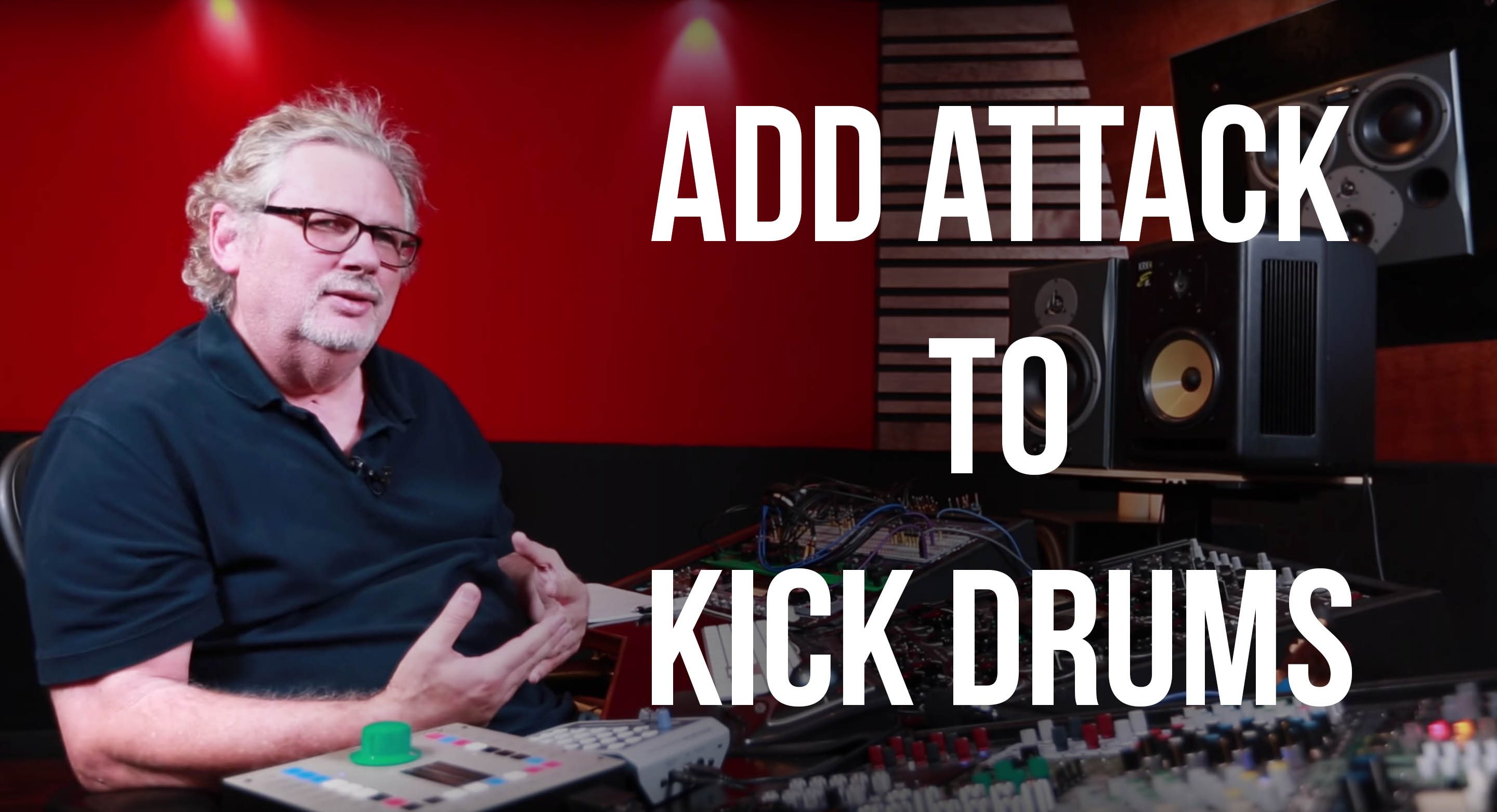 Adding Attack to Kick Drums