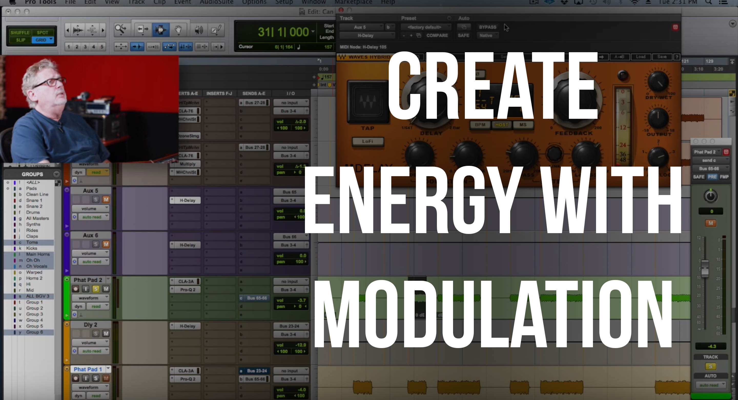 Create Energy Using Modulation