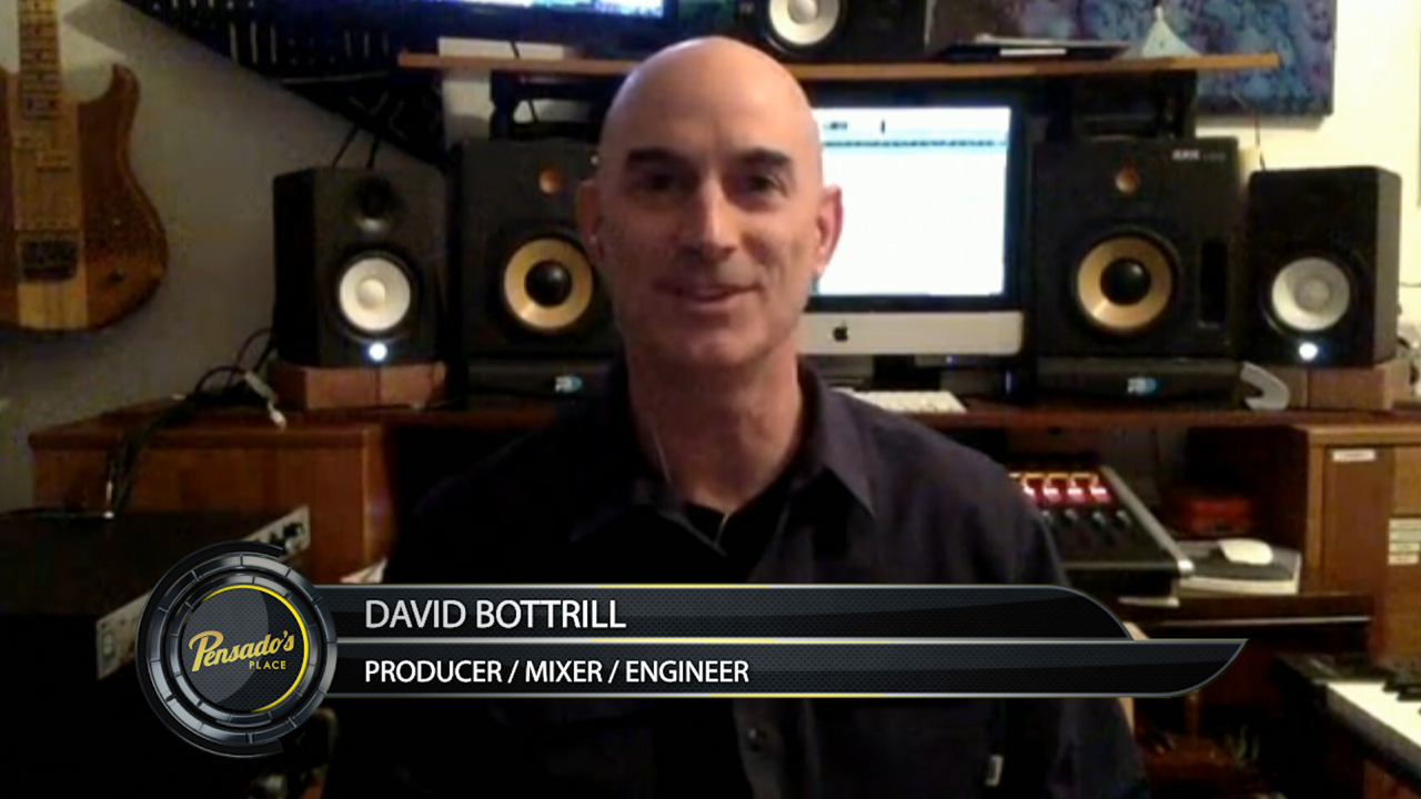Grammy  Award Winning Producer, David Bottrill