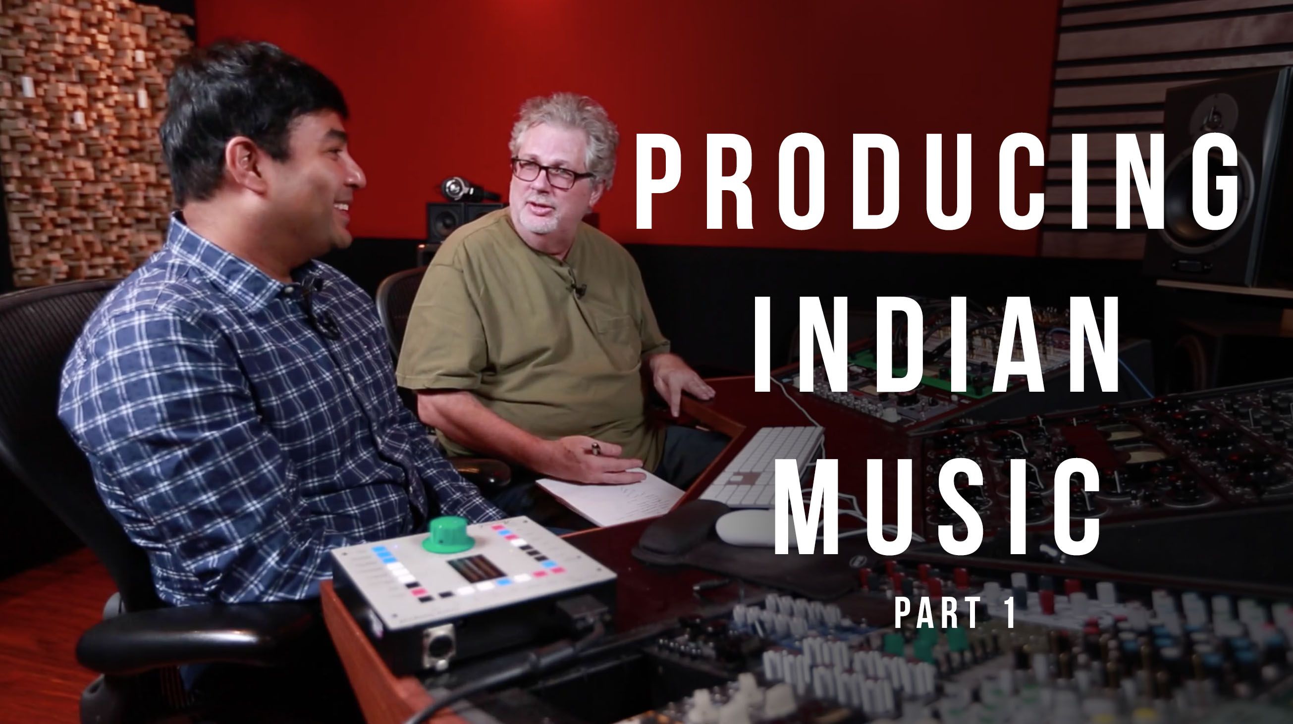 Producing Indian Music with Gaurav Dayal pt.1