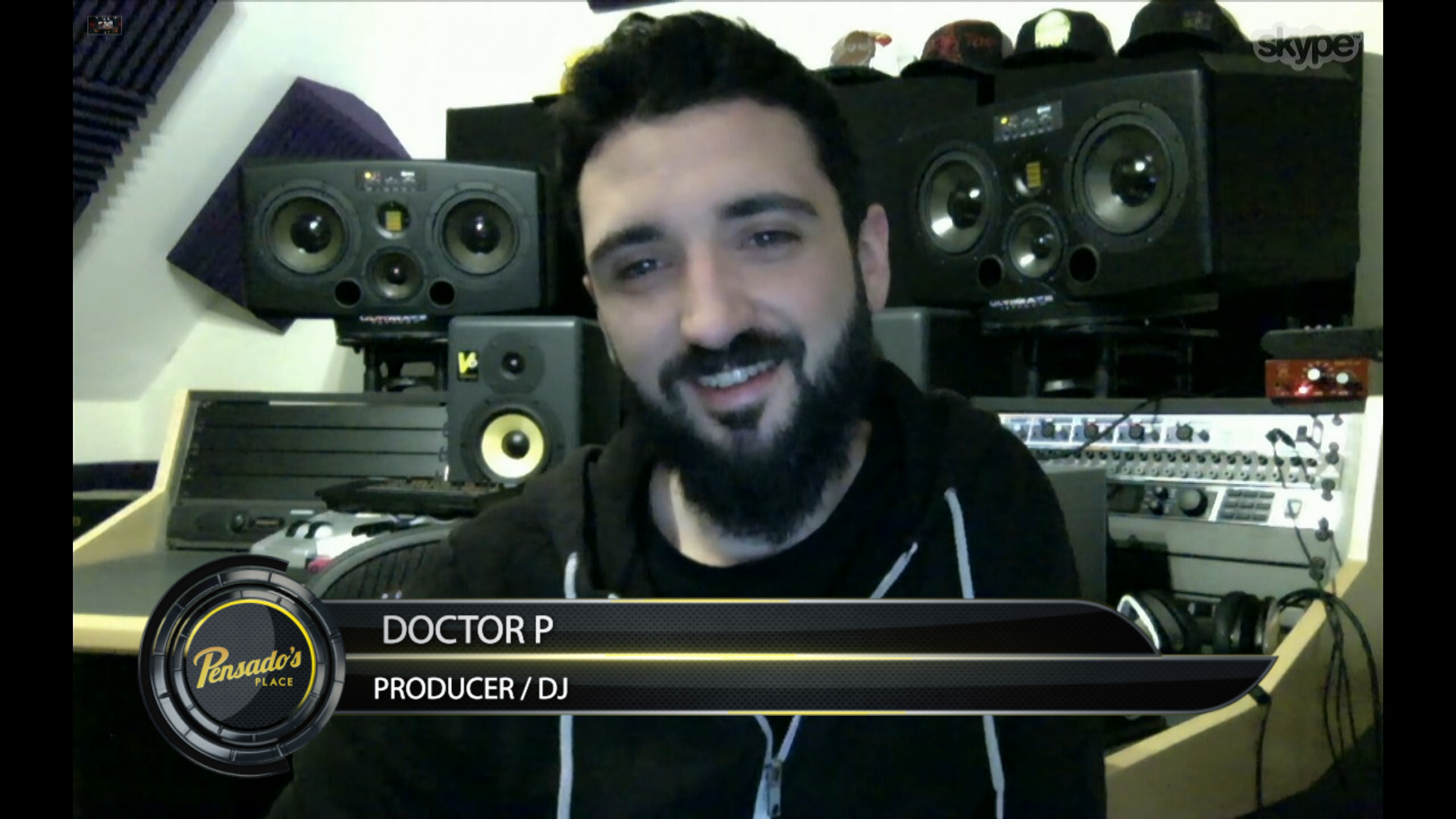 Renowned Bass Producer/DJ Doctor P