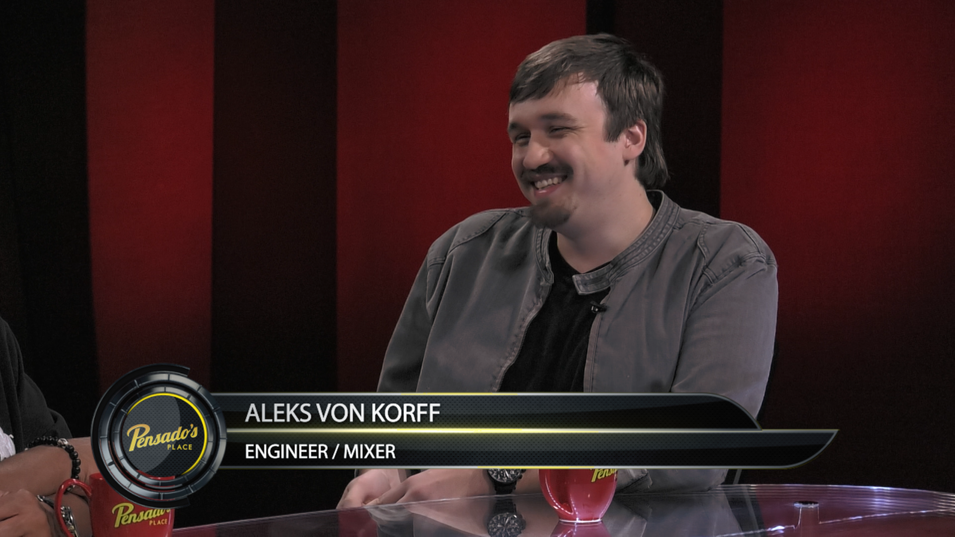 Mixer/Engineer Aleks von Korff