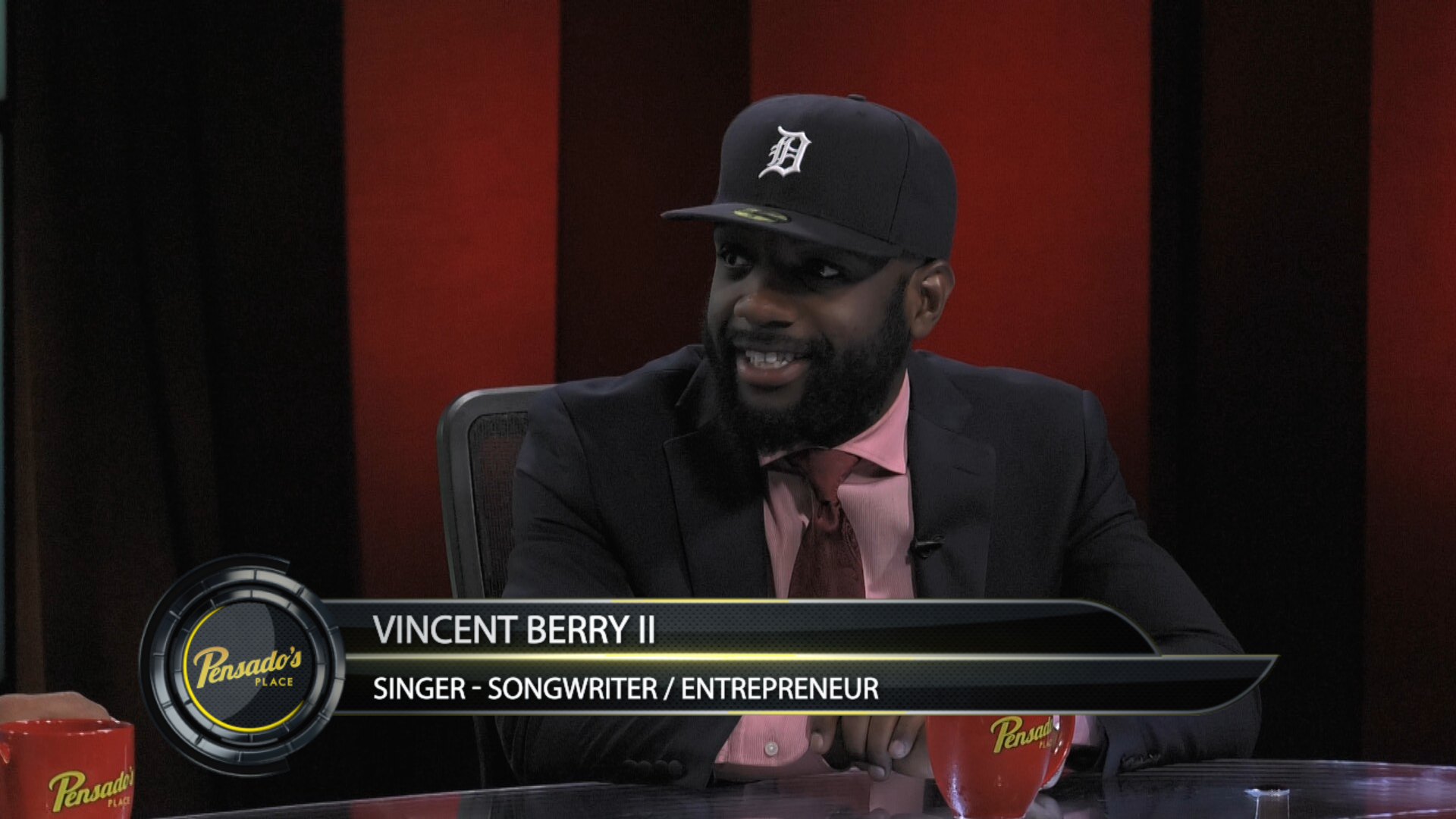 Singer-Songwriter/Entrepreneur Vincent Berry II – Pensado's Place # 266