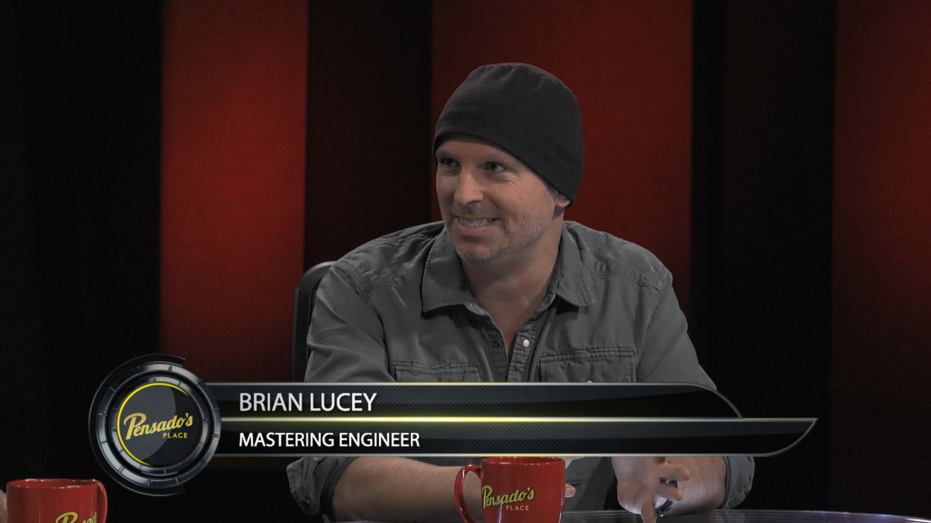 Mastering Engineer Brian Lucey