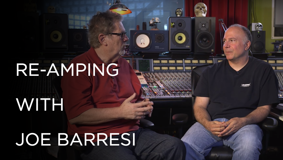 Re-Amping with Joe Barresi