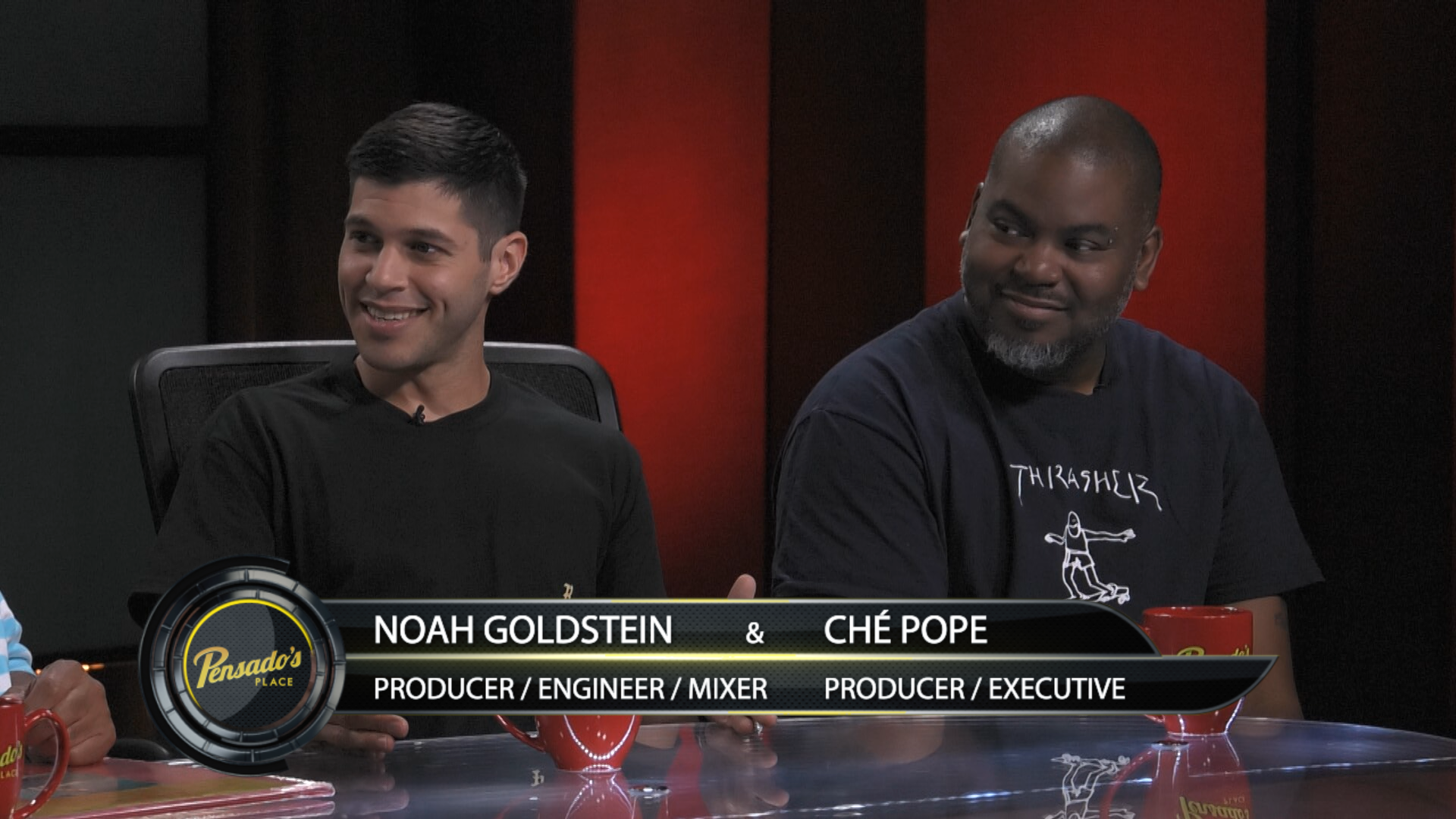 Noah Goldstein & Ché Pope of G.O.O.D. Music