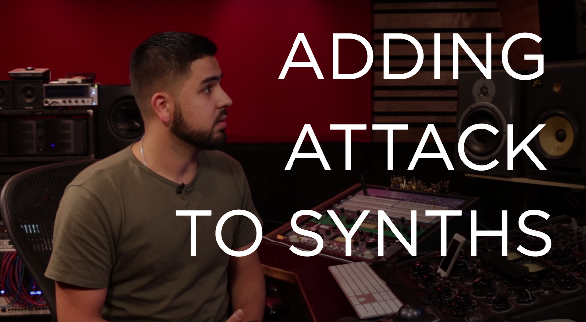 Adding Attack to Synths
