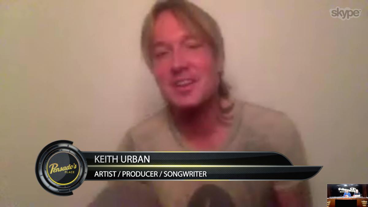 Artist/Producer/Songwriter Keith Urban