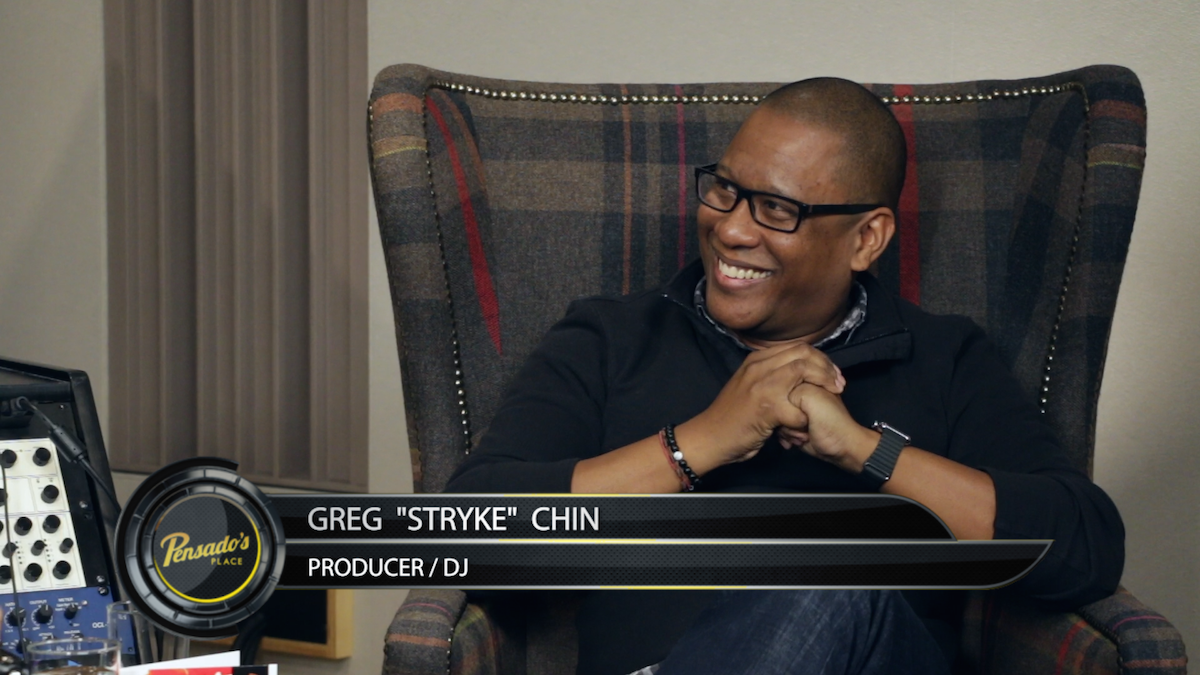 "Producer/DJ Greg ""Stryke"" Chin"