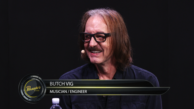 Musician / Engineer Butch Vig