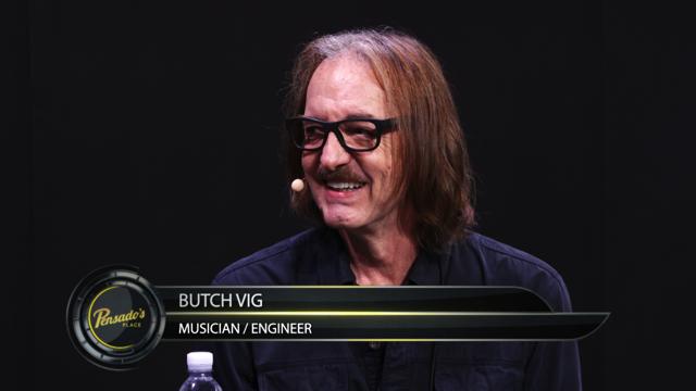 Musician / Engineer Butch Vig