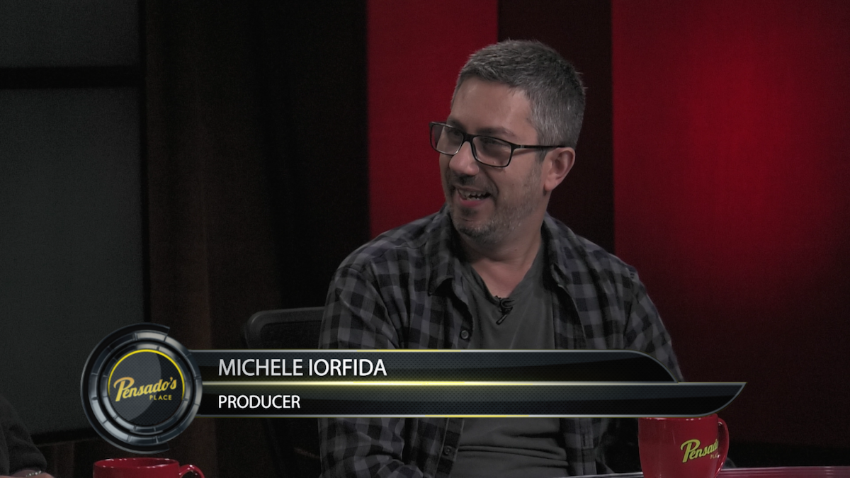 Producer Michele Iorfida
