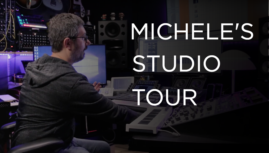 Michele's Studio Tour