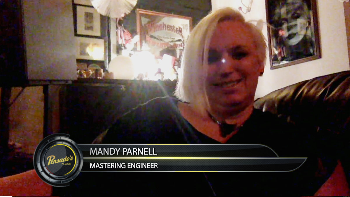 Mastering Engineer Mandy Parnell
