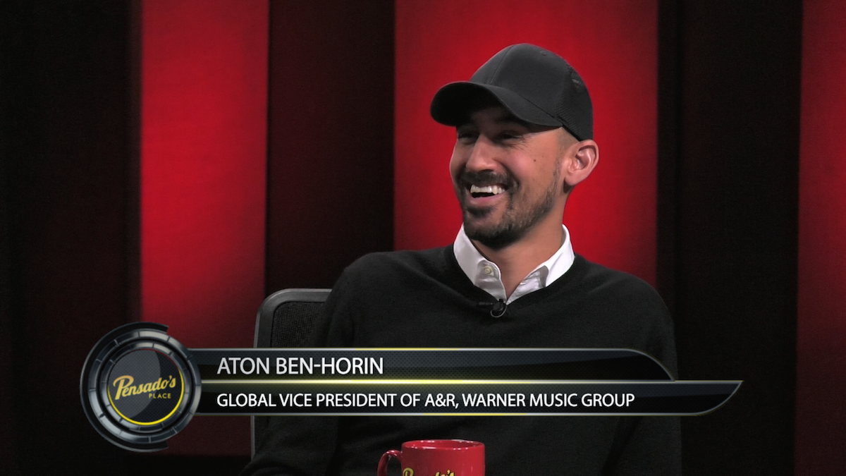 Global Vice President of A&R for Warner Music Group Aton Ben-Horin
