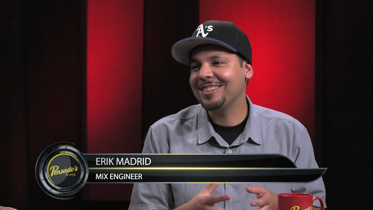 "Mix Engineer for Kyle's ""iSpy"", Erik Madrid"