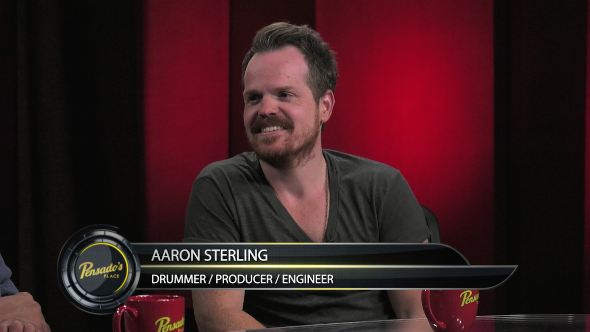 Drummer, Producer, Engineer Aaron Sterling