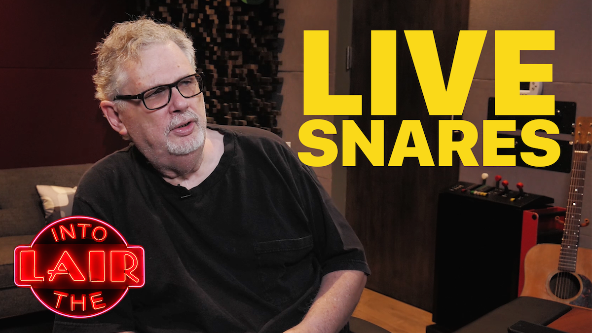 Live Snare Techniques – Into The Lair #171