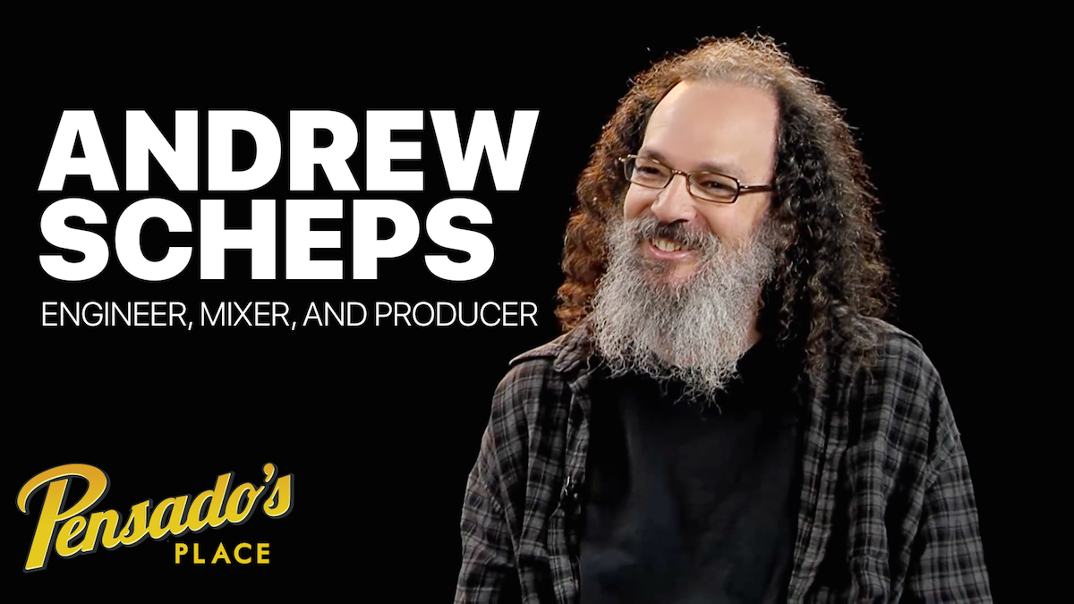 Mix Engineer / Producer Andrew Scheps
