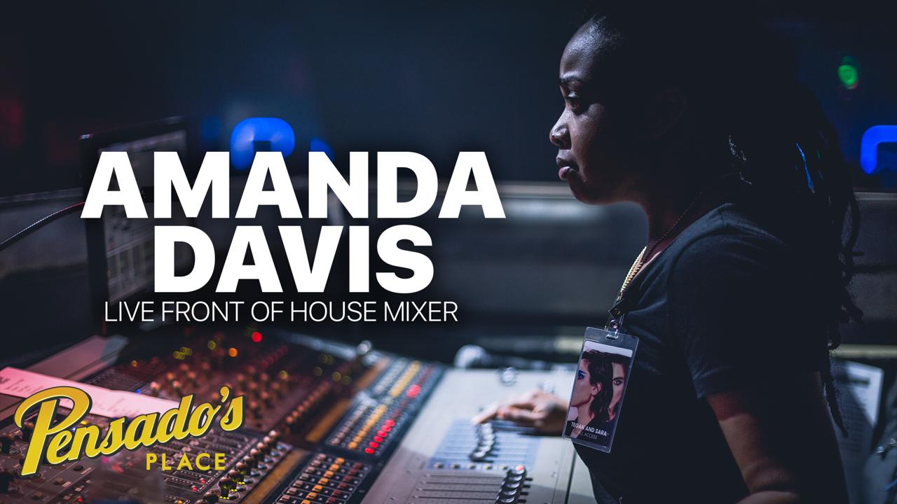Janelle Monae's Live Front of House Mixer, Amanda Davis