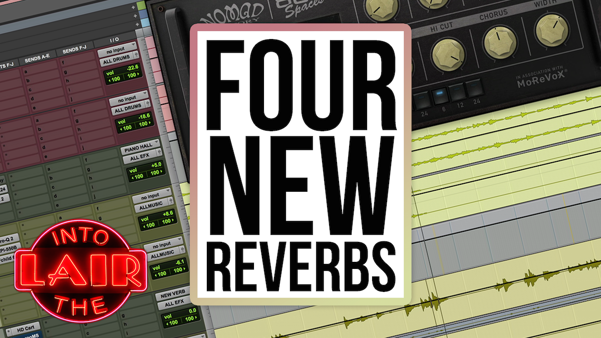 4 New Reverbs