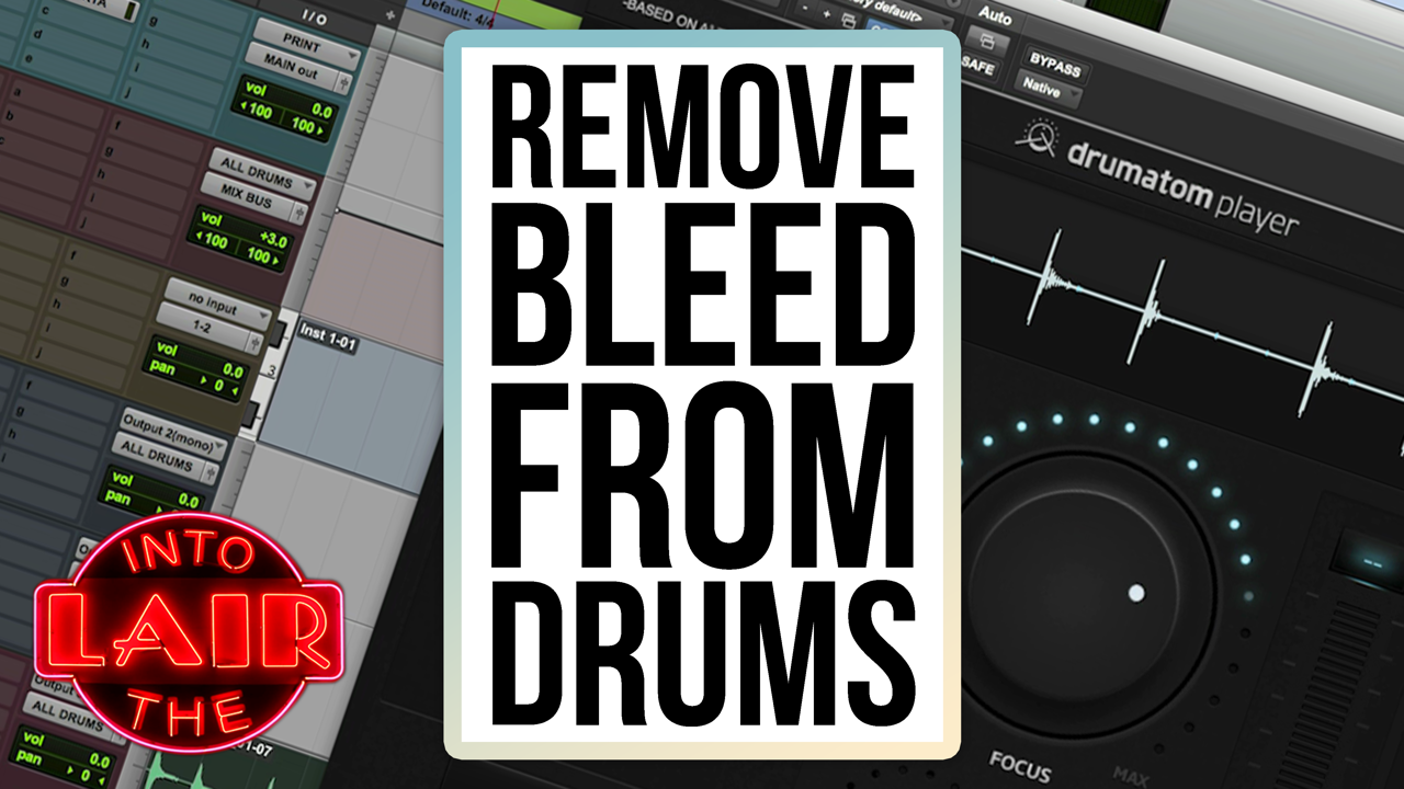 Remove Bleed from Drums