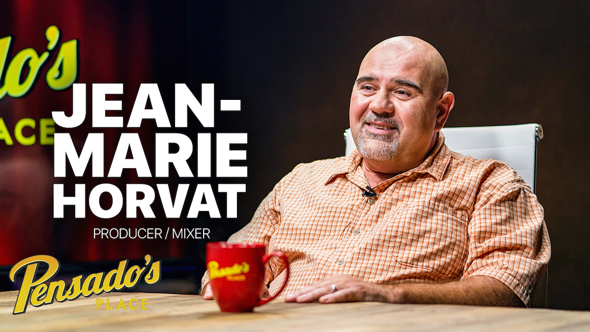 Producer / Mixer Jean-Marie Horvat