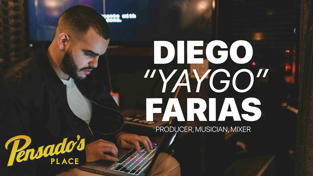 """Producer / Musician / Mixer, Diego """"Yaygo"""" Farias"""