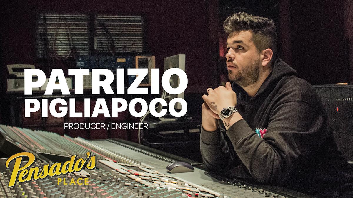 Chris Brown's Engineer / Producer, Patrizio Pigliapoco