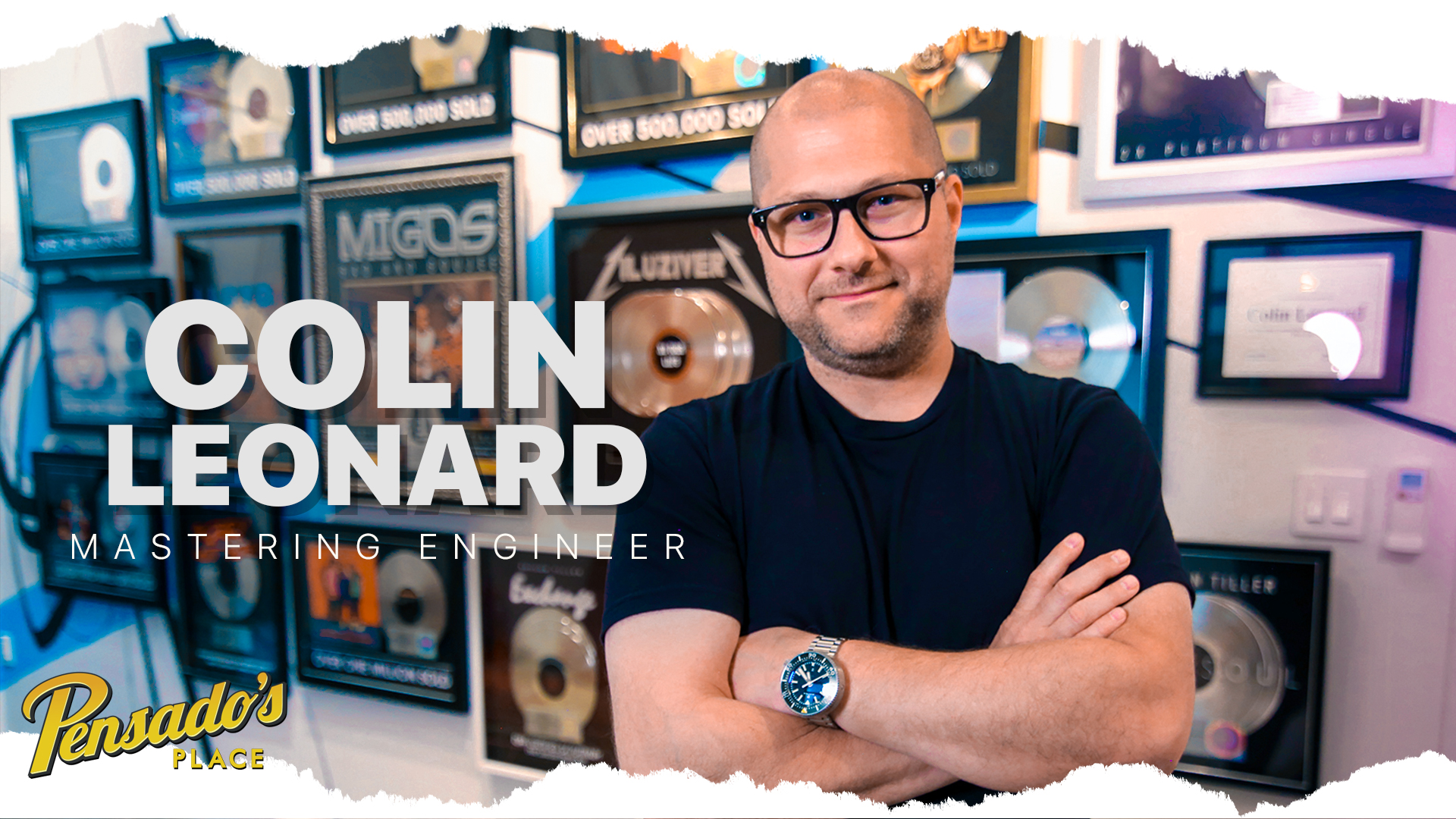Chart Topping Mastering Engineer (SING Mastering), Colin Leonard