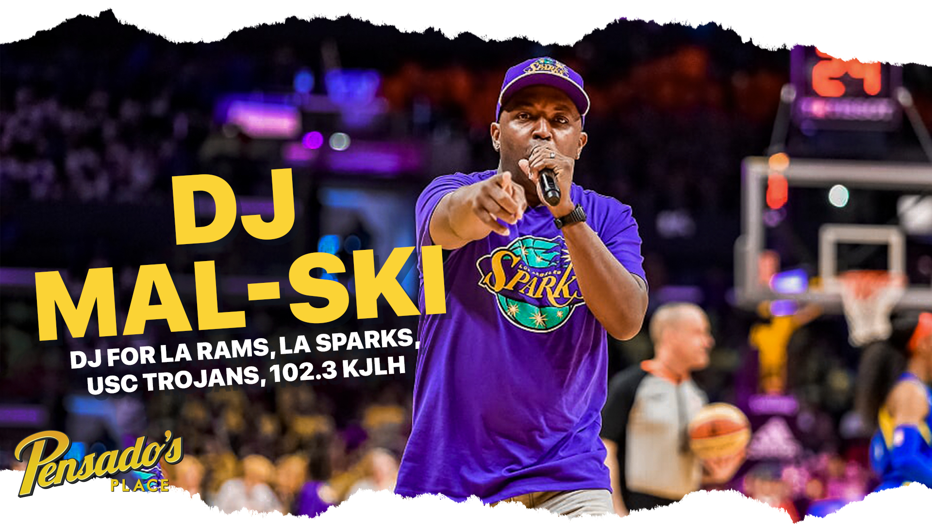 Official DJ for the LA Rams (NFL), DJ MaL-Ski