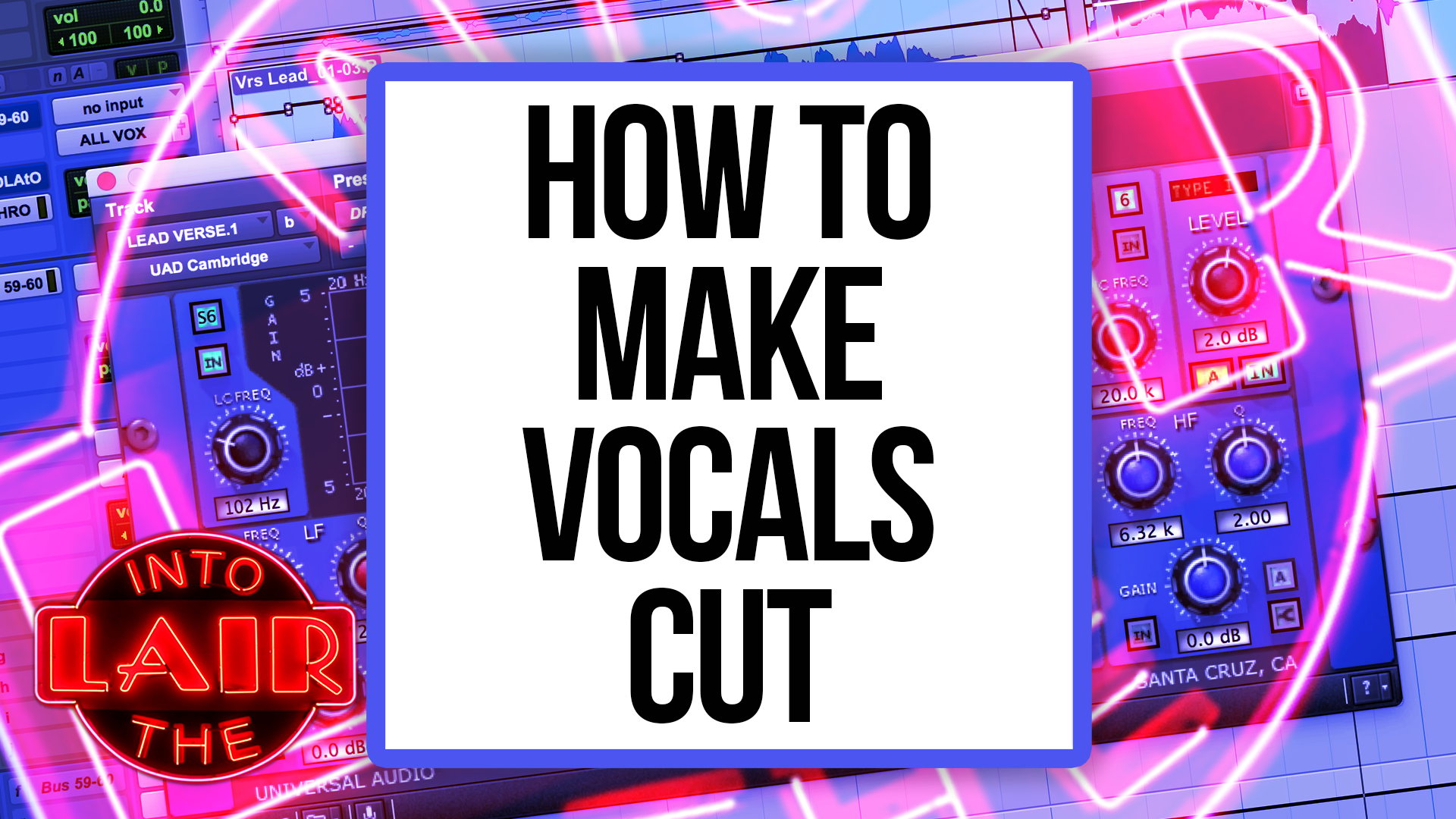 How To Make Vocals Cut