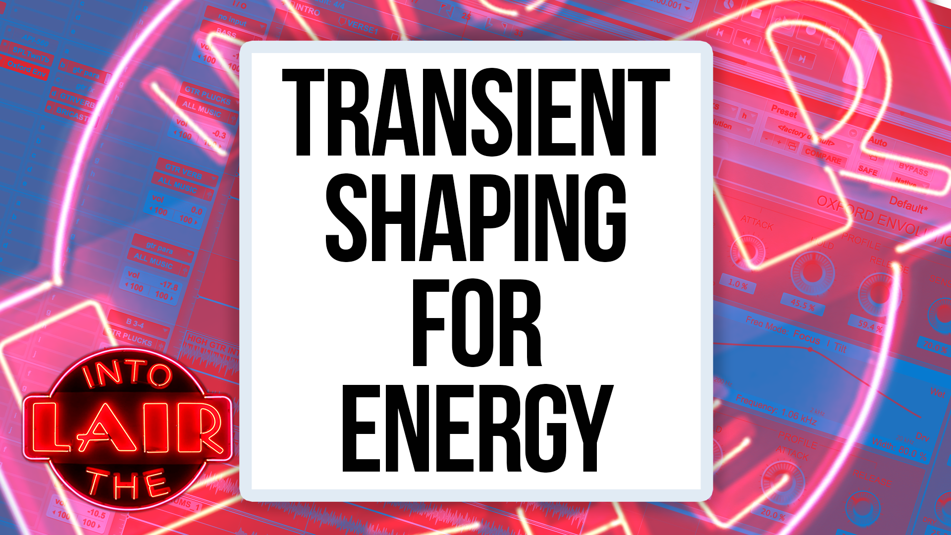 Transient Shaping For Energy