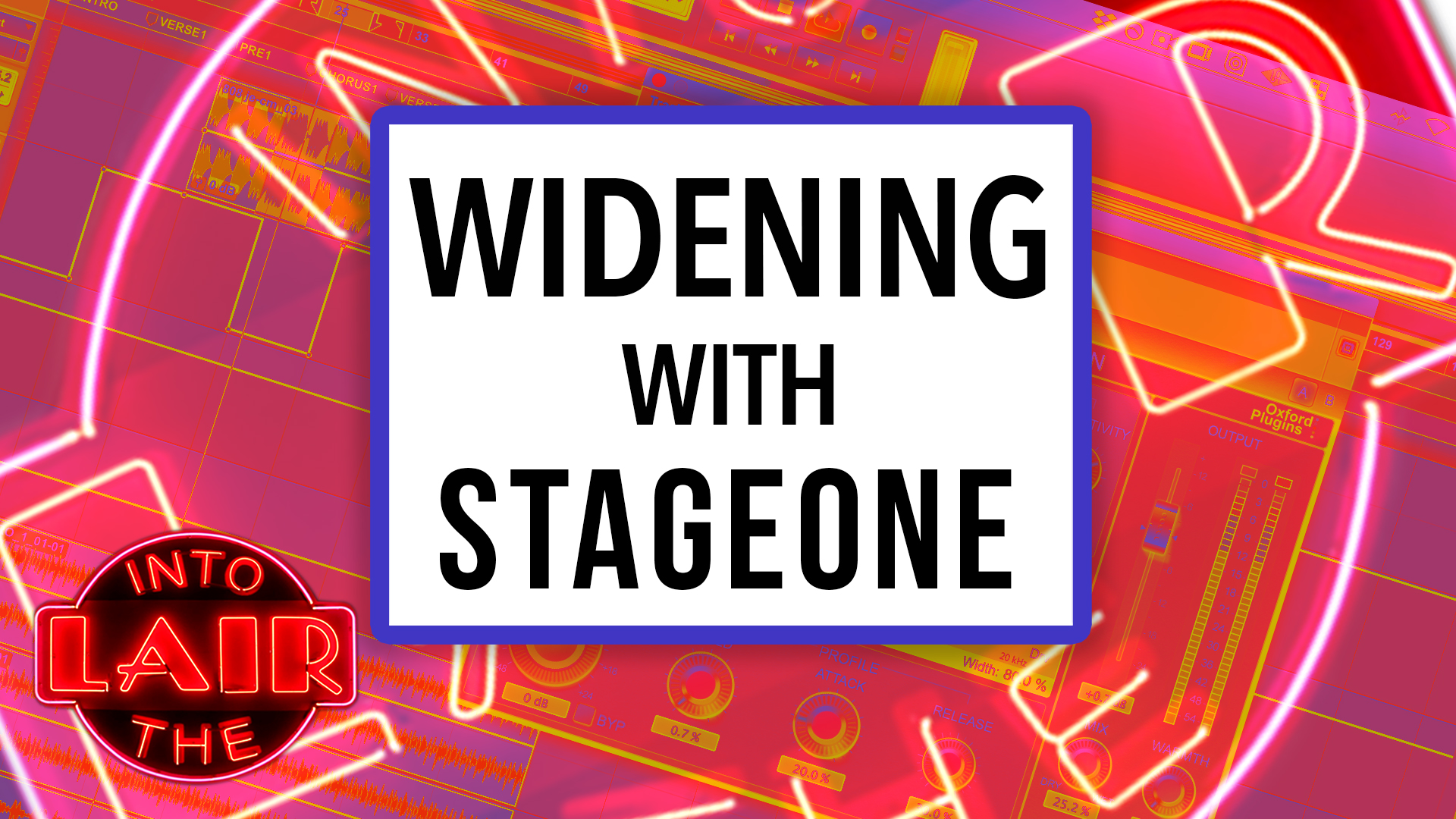 Widening with StageOne