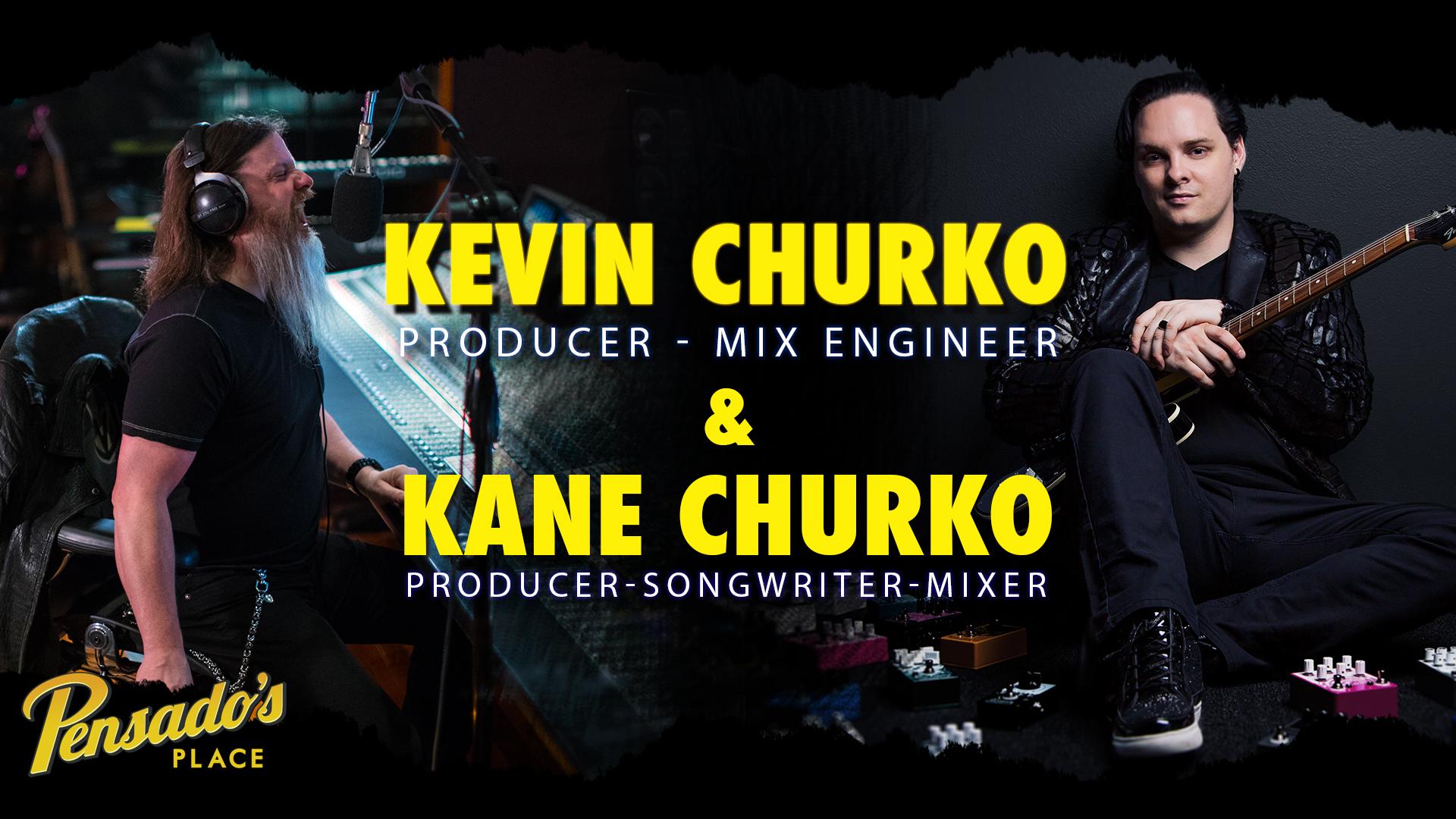 Ozzy Osborne Producers / Engineers, Kevin and Kane Churko