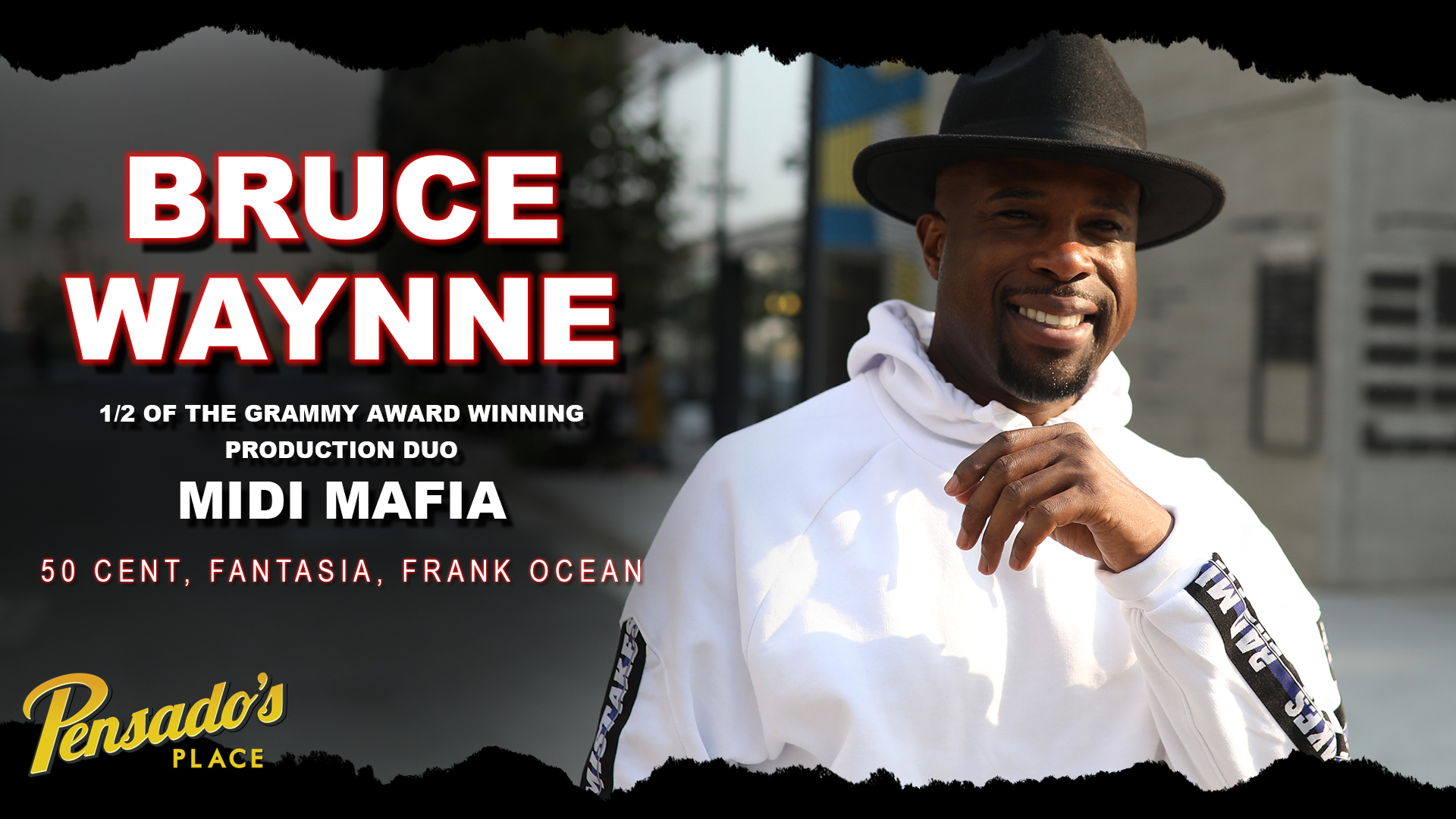 Grammy Winning Producer / VP of Transparence Ent., Bruce Waynne
