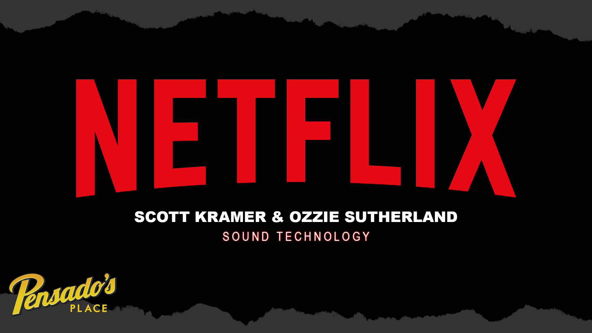 Netflix Creative Technologies & Infrastructures Sound Technology Team