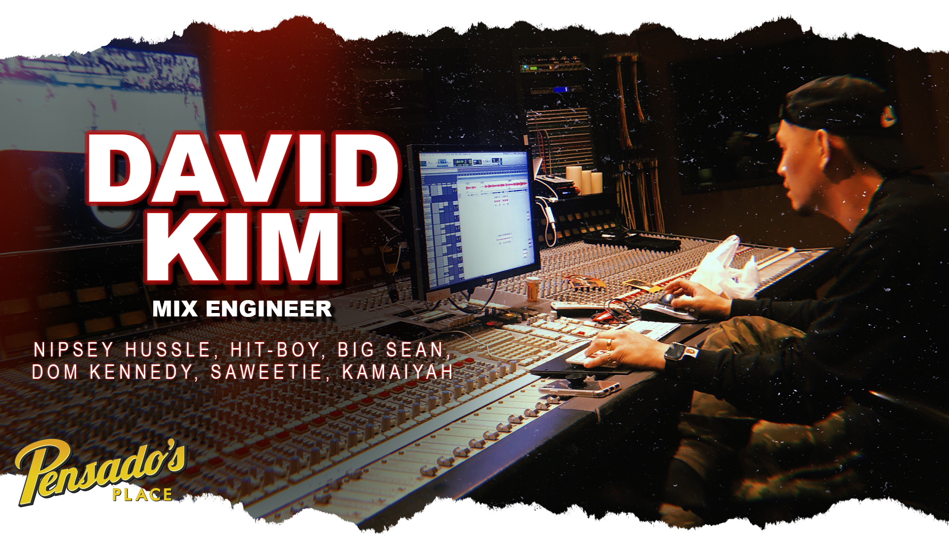 Grammy Award Winning Mix Engineer, David Kim
