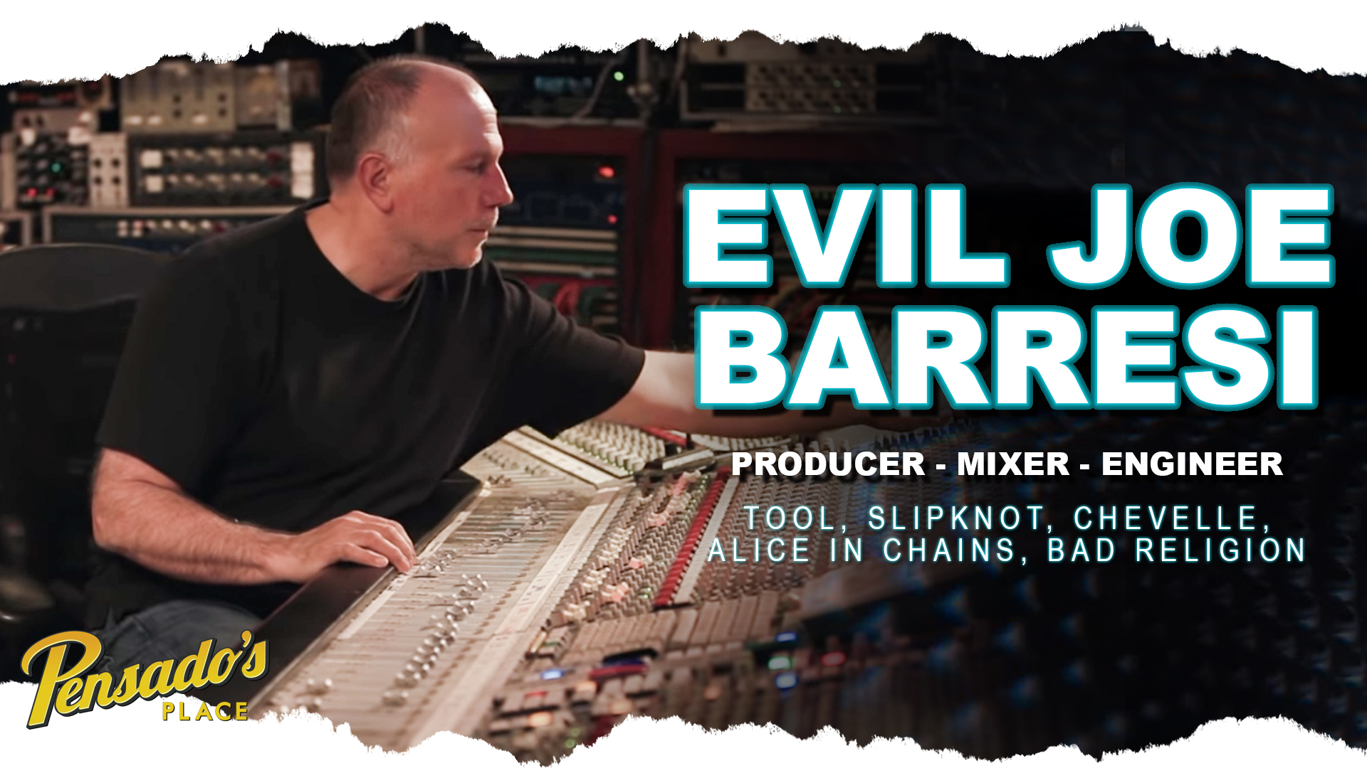 Producer / Mixer / Engineer, Joe Barresi (Tool, Slipknot, Alice in Chains) PART 1