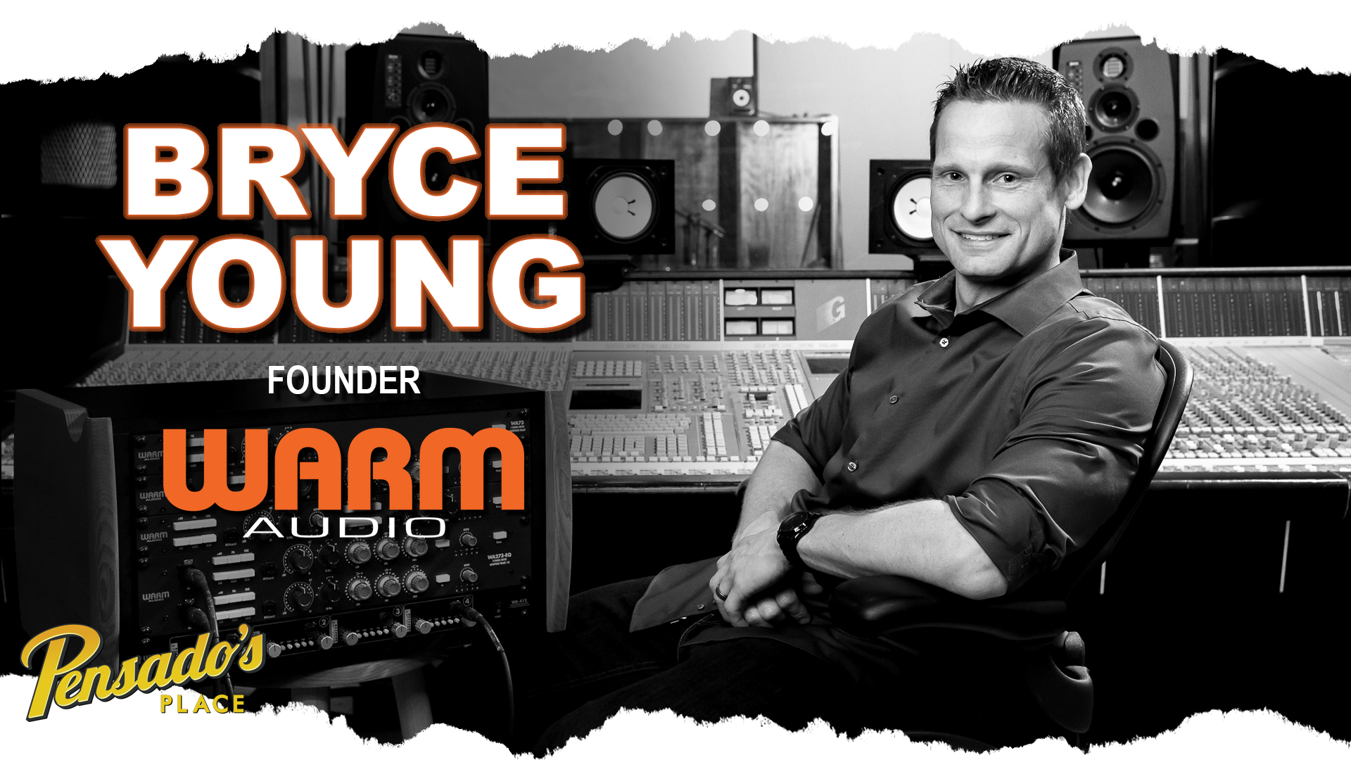 Founder of Warm Audio, Bryce Young