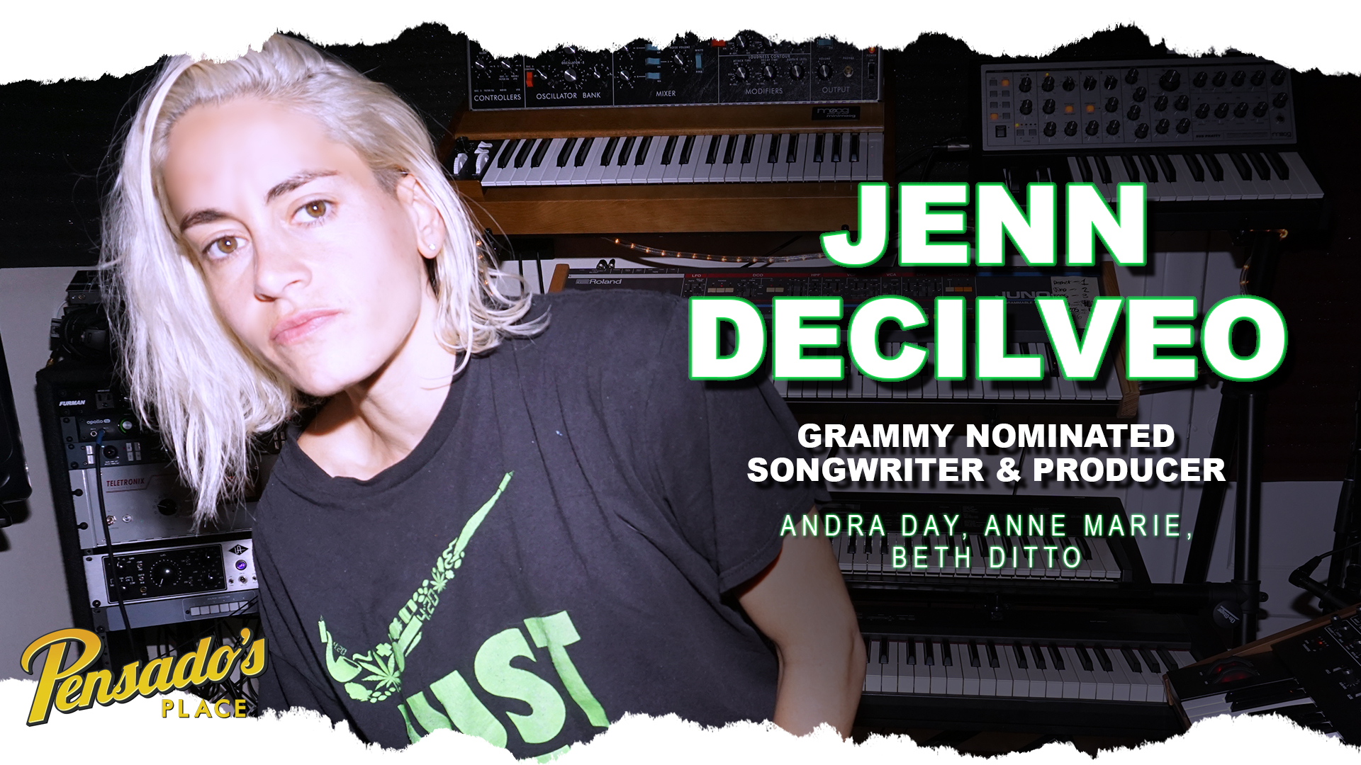 Grammy Nominated Songwriter & Producer, Jenn Decilveo