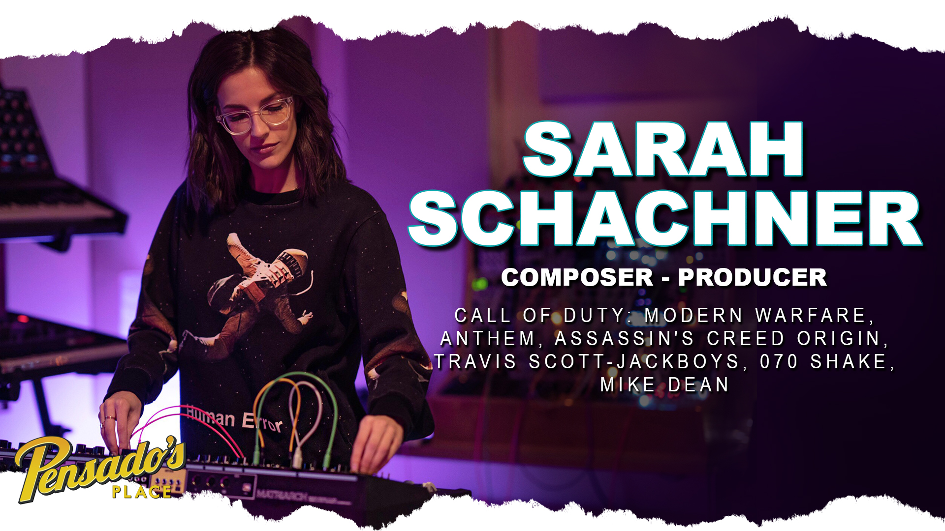 """Call of Duty: Modern Warfare"" Composer / Producer, Sarah Schachner"