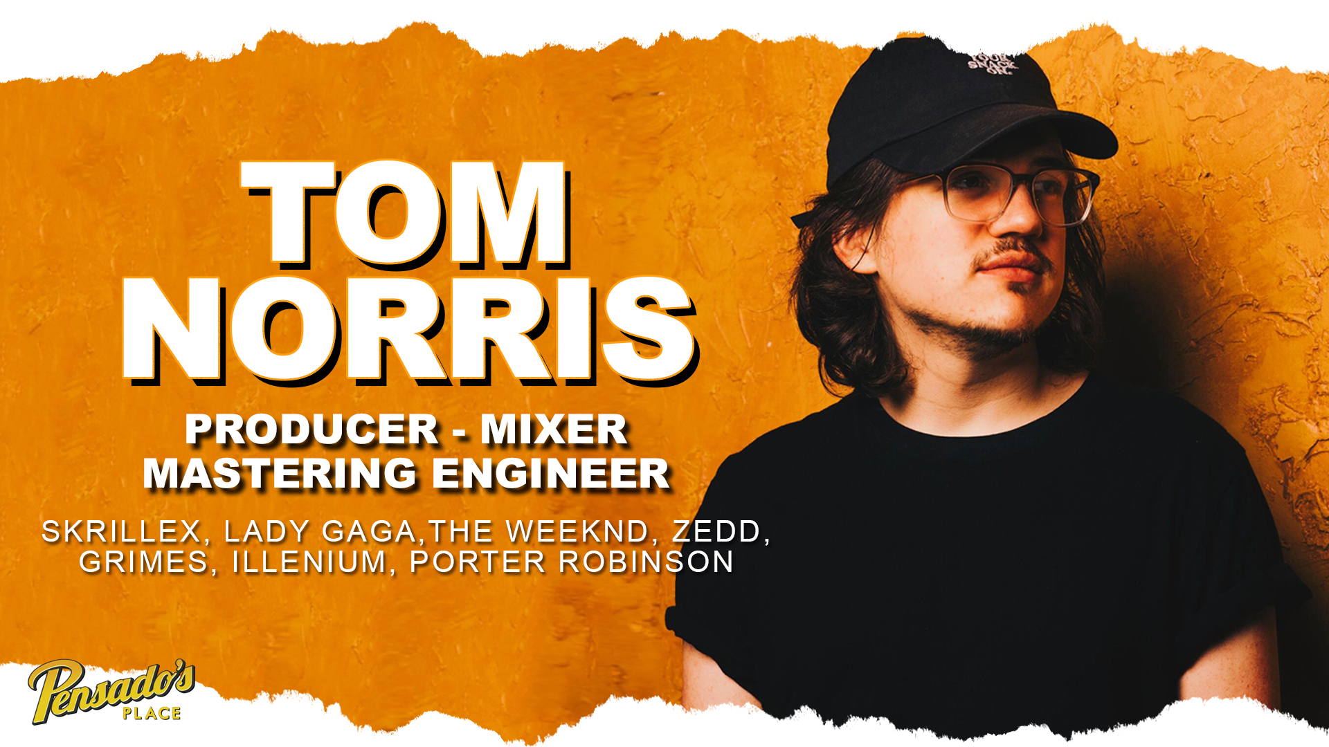 Skrillex Mix Engineer / Producer / Mastering Engineer, Tom Norris