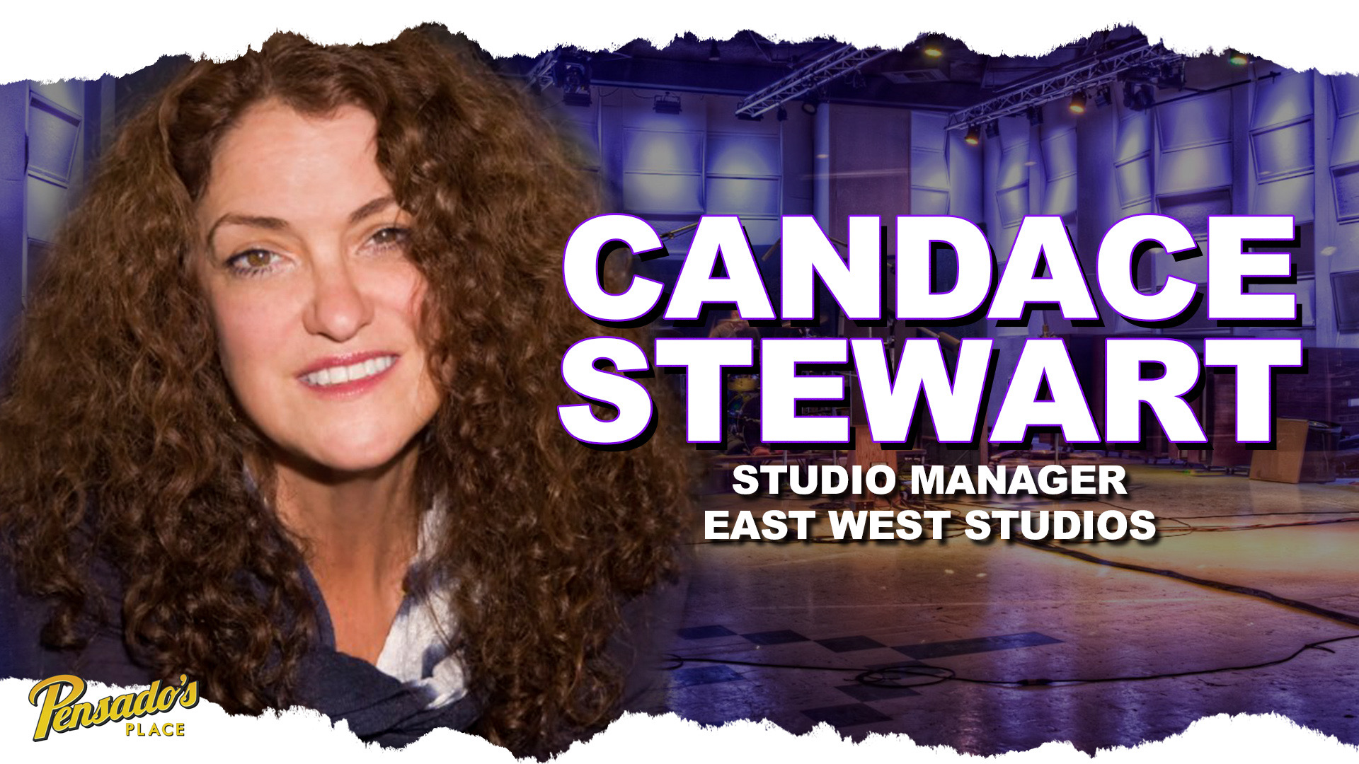 East West Studio Manager, Candace Stewart