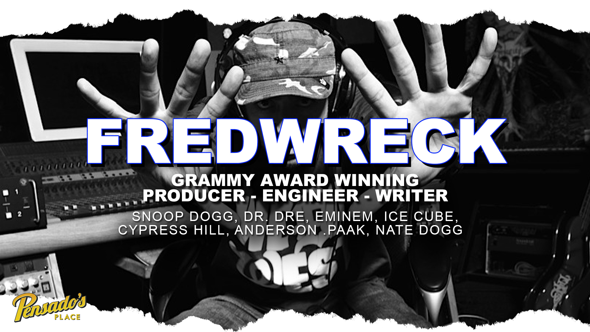 Grammy Award Winning Producer / Engineer / Writer, FredWreck