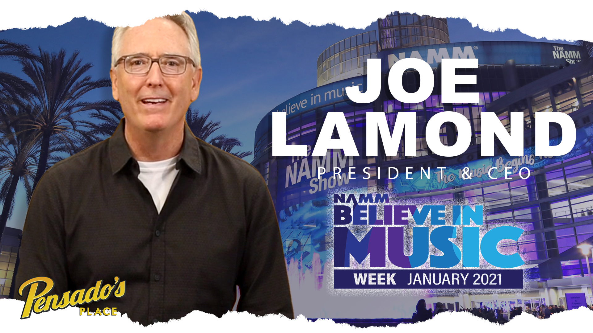 NAMM President & CEO, Joe Lamond