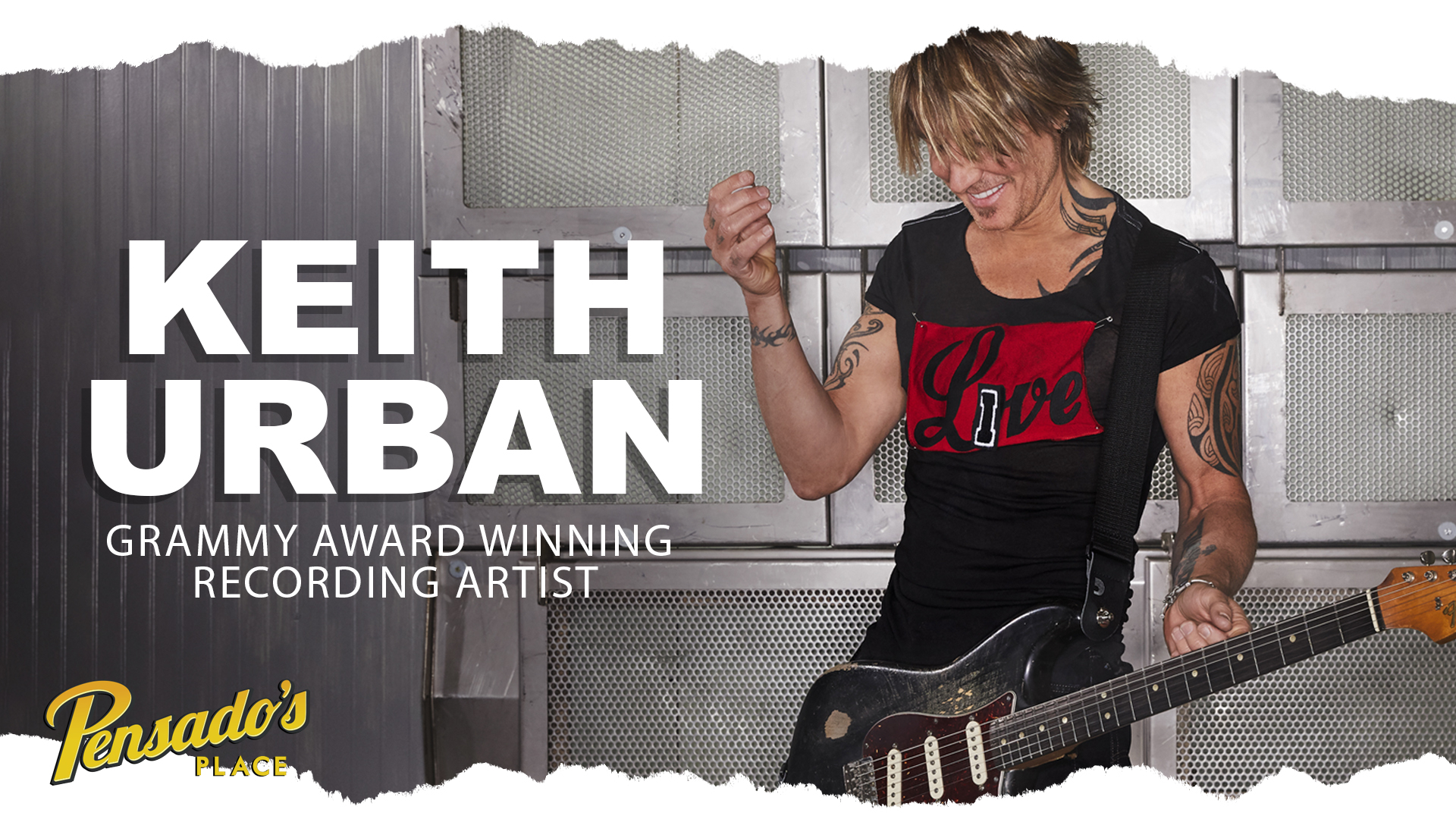Grammy Award Winning Recording Artist, Keith Urban