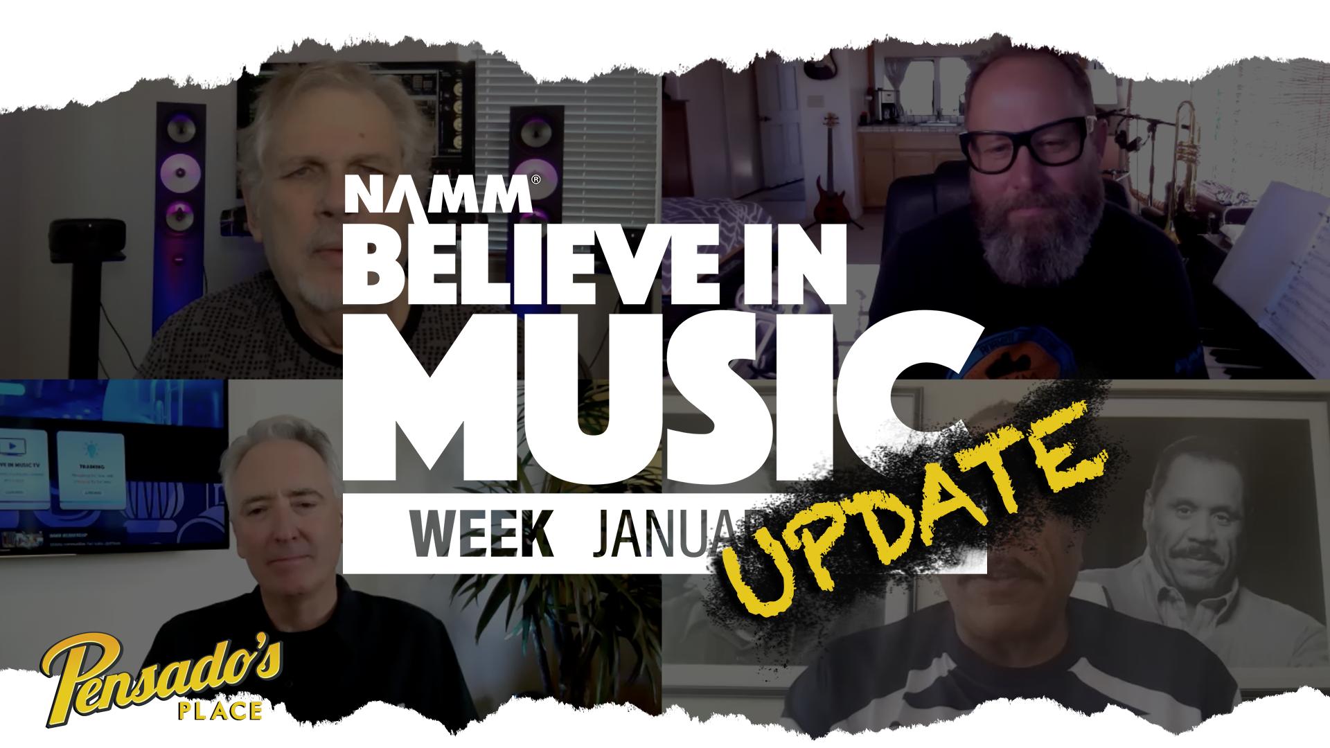 NAMM Believe In Music Update