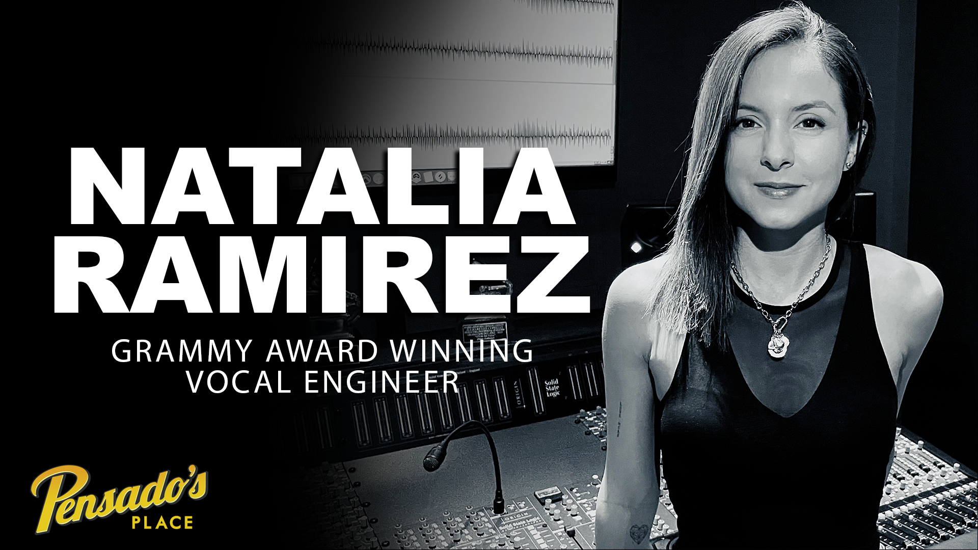 Grammy Award Winning Vocal Engineer, Natalia Ramirez